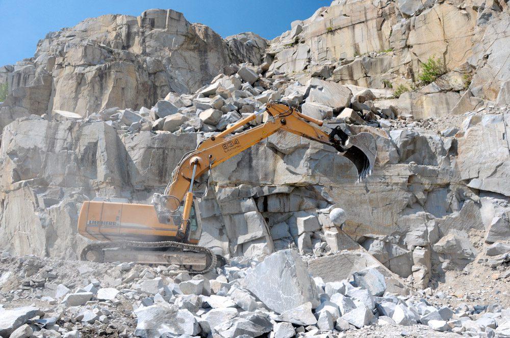 Schärdinger Granit Steinbruch Produkte