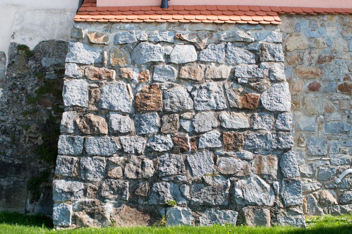 Schärdinger Granit Böschungs-Pflastersteine