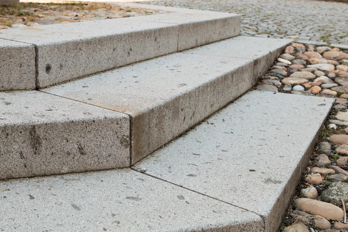 Schärdinger Granit Blockstufen