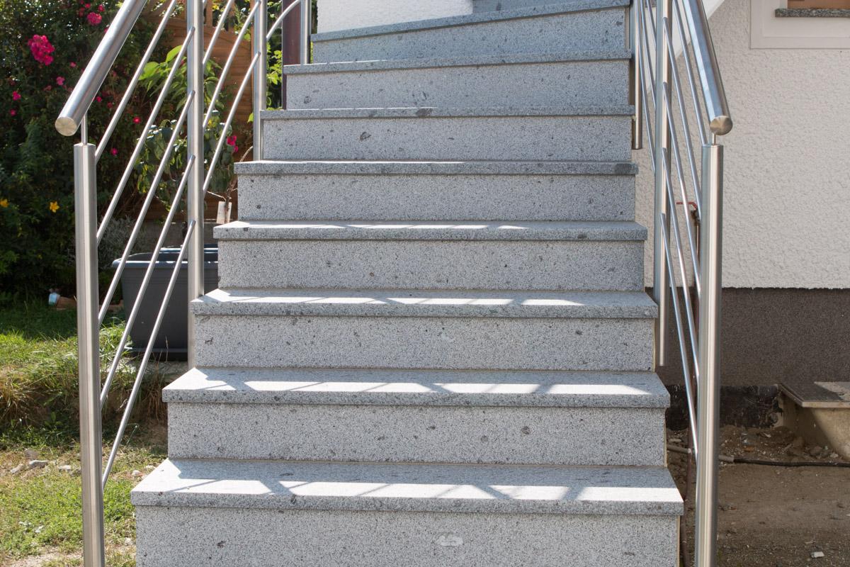 Schärdinger Granit Stufen