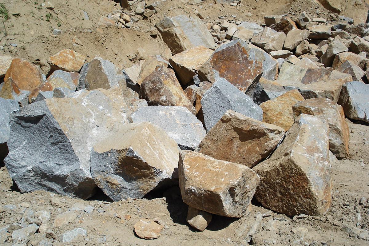 Schärdinger Granit Bruchsteine