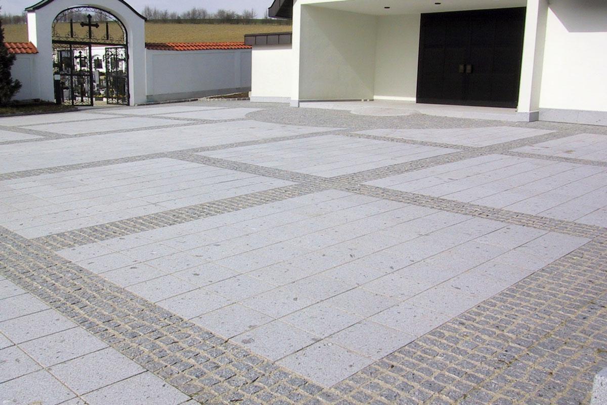 Schärdinger Granit Boden- und Pflasterplatten